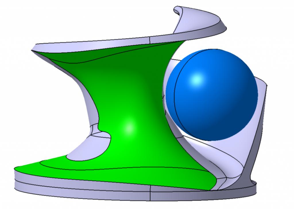 Virtuálny model vyváženia obežného kolesa SPIRAM