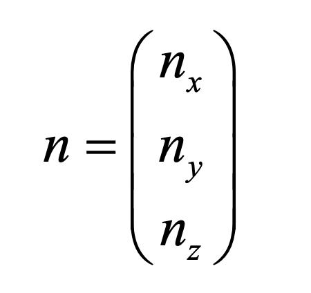 Vektor deviačnej osi