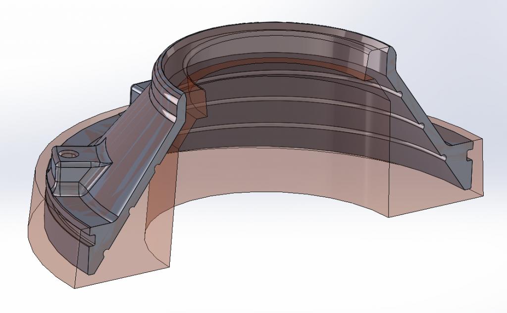 Návrh modelového zariadenia čerpadla SPIRAM v programe SolidWorks.