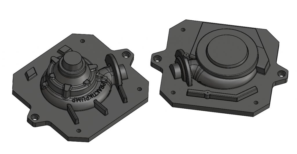 3D model - čerpadlo SPIRAM